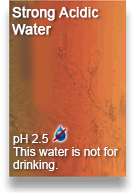 Strong Acidic Water